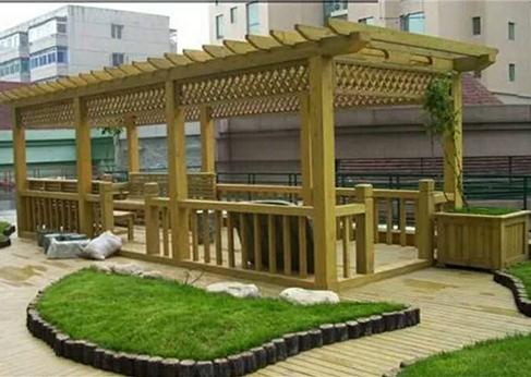 甘肃防腐木工程公司