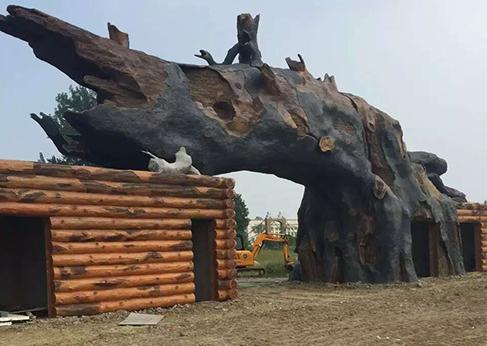 新疆假树造型