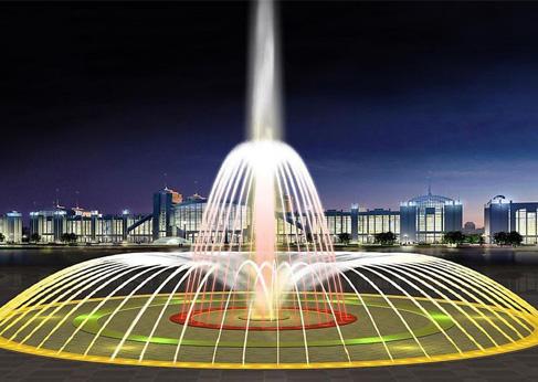 西安喷泉实验