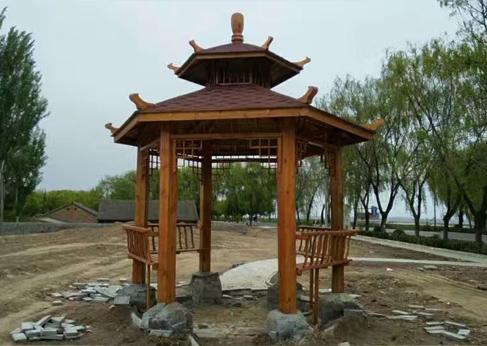 西安防腐木工程制品