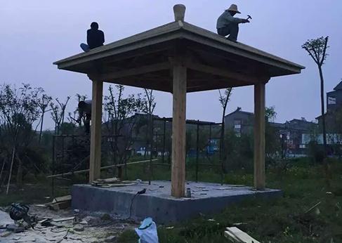 内蒙古防腐木工程施工流程