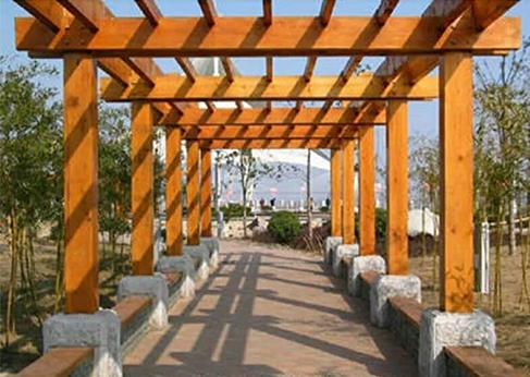 新疆防腐木工程