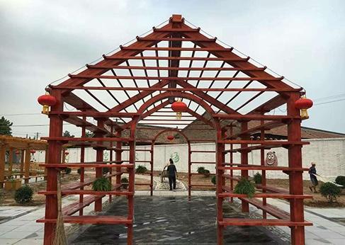 宁夏防腐木工程施工