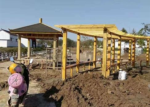 甘肃防腐木工程安装流程