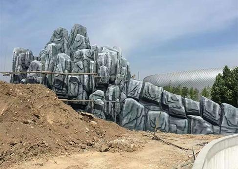 周至假山石造型