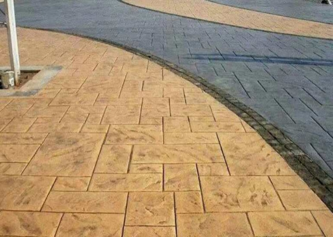 艺术路面结构