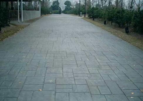 西安艺术路面施工