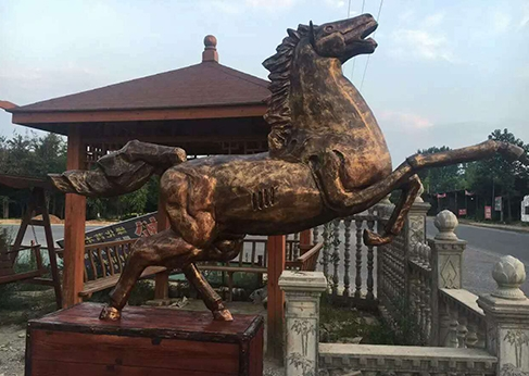 宁夏铸铜雕塑