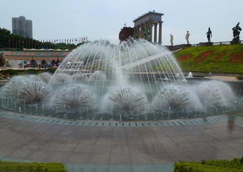 喷泉实验原理