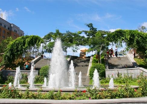 周至喷泉设备