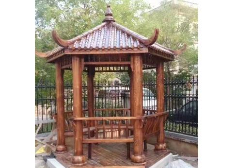 甘肃园林防腐木工程