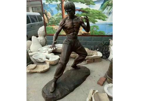铸铜雕塑工艺