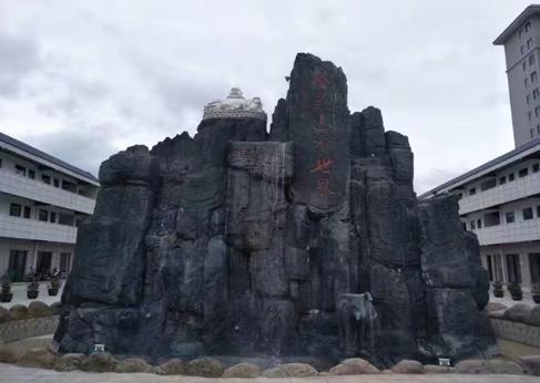 小型假山石